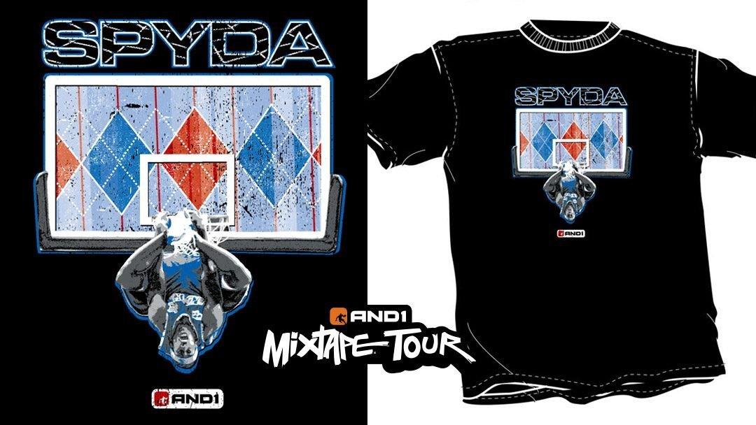 AND1 Spyda Shirt