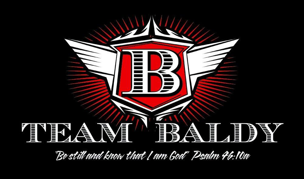 Team-Baldy-t-shirt-on-black